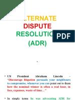 ADR Slides - RVV.J'16