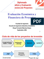 Evaluacion y Financiacion de proyectos