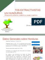 Violaciones de DDHH Proyectos Extractivistas en Honduras