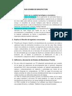 Guía Examen de Manufactura