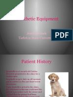 week 4 - anesthetic equipment