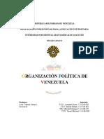 ORGANIZACION POLITICA DE VENEZUELA