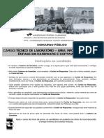 Uff Edital 297 2011 Tecnico de Laboratorio de Informatica