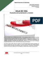 4.1 Hoja de Vida. Parámetros de Presentación y Revisión (1) (3)