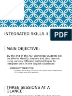 Integrated Skills approaches