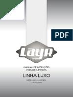 Forno Elétrico Layr Luxo