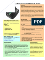 SDK Windows Brochure