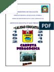 Carpeta Pedagogica AIP y CRT 2016