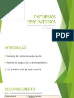 Distúrbios Respiratórios Em Neonatologia