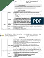 Formato Matriz Estructura Diseño Plan Accion Tutorial