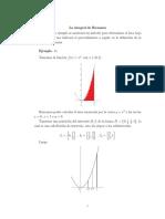Apunte La Integral de Riemann