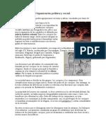 Organización Política y Social de los Tainos
