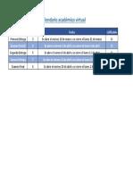 Calendario Acad Mico