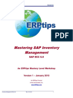 Mastering SAP Inventory Management