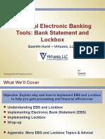 225513031 Electronic Banking and Lockbox 052114