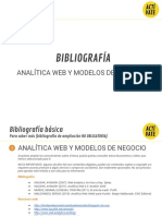 Bibliografía Mooc Analítica Web y Modelos de Negocio