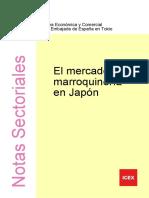 El Mercado de Marroquineria en Japon -Icex