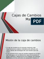 Cajas de Cambios Manuales (1)