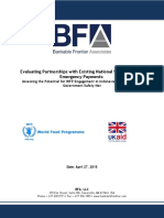 Assessment of Potential WFP G2P Partner Programs in Indonesia