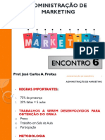 Adm de Marketing - Aula 6