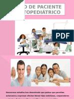 Manejo de Paciente Odontopediatrico