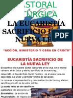 La Eucaristia Sacrificio de La Nueva Ley. Tema 1