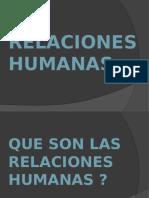 Relasiones Humanas