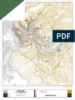 Plano Topográfico de la ciudad de La Paz