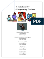 A Handbook Master_cooperative Teachers