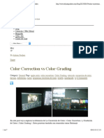 Color Correction vs Color Grading