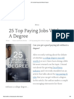25 Top High Paying Jobs Without a Degree