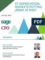 Slide Deck Sage Sponsored Webcast With CFO Publishing 06-25-15