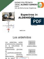 Elucidación de Aldehídos por TF-IR