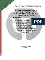 CASO de Psicopatologia Ultima Sesion Final Ezquizofrenia
