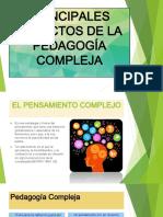 Principales aspectos de la pedagogia compleja