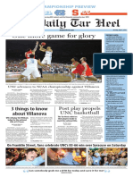 The Daily Tar Heel for April 4, 2016