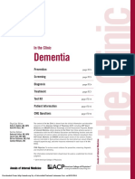 In the Clinic Dementia