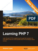 Learning PHP 7 - Sample Chapter