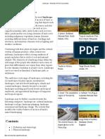 Landscape - Wikipedia, The Free Encyclopedia