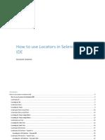 5 How to Use Locators in Selenium IDE