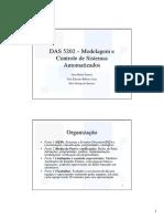DAS5202 - Modelagem e Controle de Sistemas Automatizados