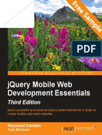 jQuery Mobile Web Development Essentials-Third Edition - Sample Chapter
