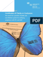 Certificates of Clarity or Confusion_The Search for a Practical_ Feasible and Cost Effective System for Certifying Compliance With PIC and MAT