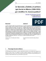 Historia Psicologia Social en Mexico