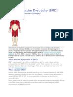 Becker Muscular Dystrophy