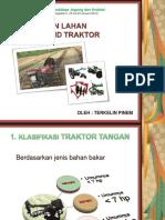 Traktor R2 dan pengolahan tanah