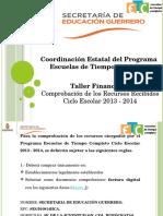 1.1 Presentacion de Taller Financiero Recursos Recibidos