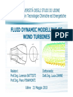 FLUID DYNAMIC MODELLING OF WIND TURBINES