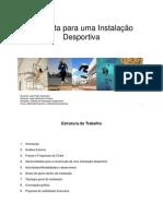 Oliveira Hugo,  trabalho Mestrado Marketing Desportivo ISCTE, Proposta para uma Instalação Desportiva