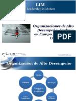 Nuevas Tendencias - Organizaciones de Alto Desempeno - Trabajo en Equipo y Liderazgo Compartido - Uniandinos Noviembre 11 2014